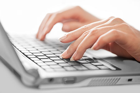 Professional writing, typing transcriptions