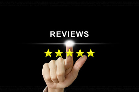 online reviews online audits